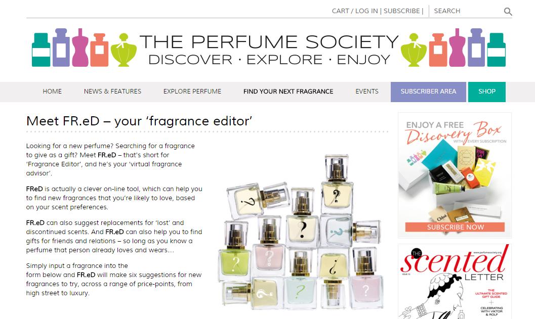 Perfume Society profumo
