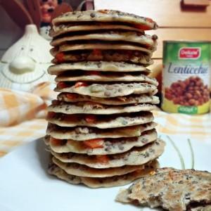 18. Pancakes salati di lenticchie - vertige