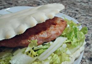 23. hamburger e insalata - vertige