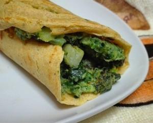 27. farinata con crema di broccoli - vertige