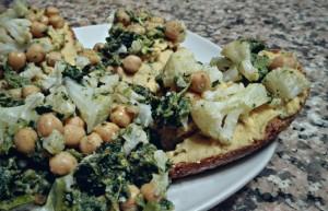 29. bruschetta Hummus e verdure invernali - vertige