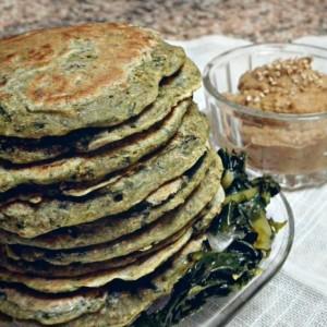 4. Pancakes di verza - vertige