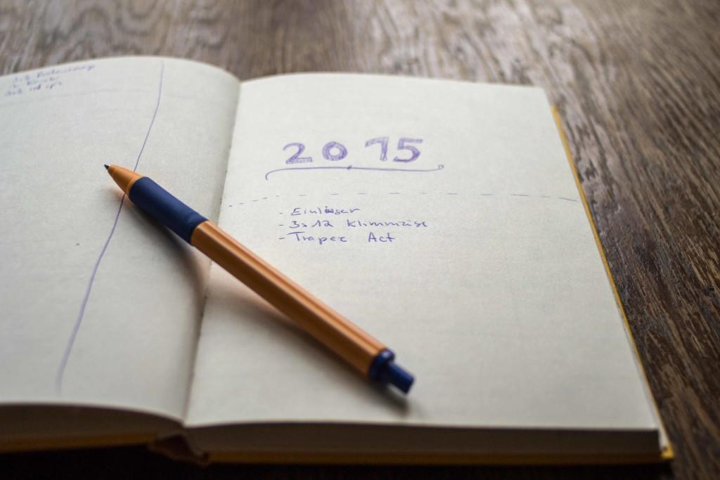 I miei obiettivi per il 2015