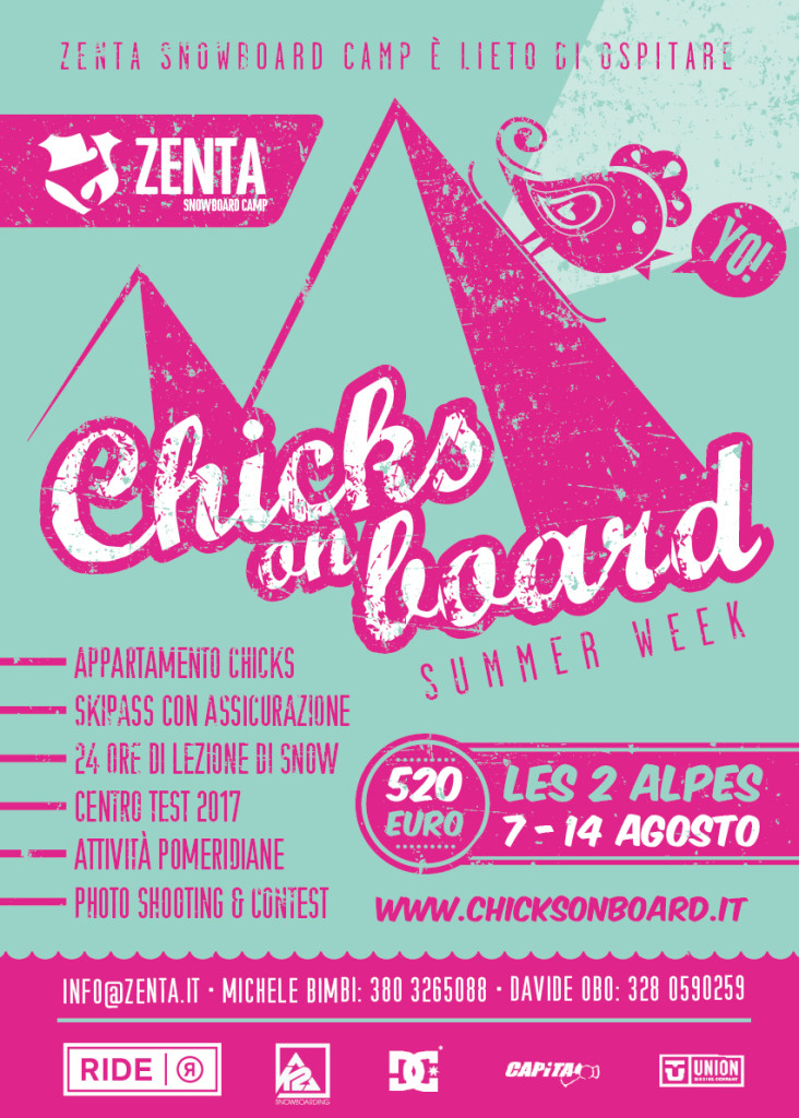 Chicks Summer Week 2016 sciare