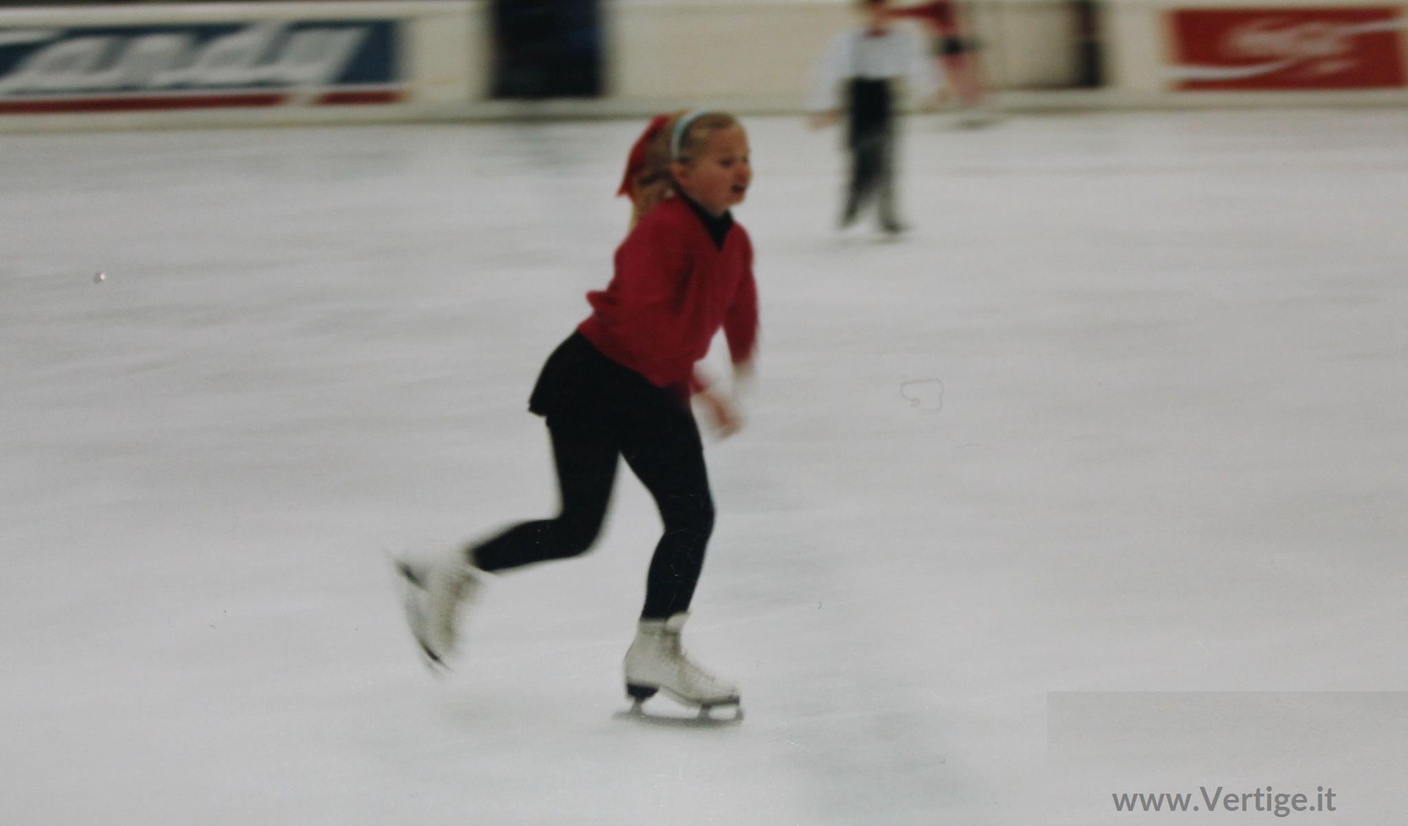 valentina d'amico pattinaggio sul ghiaccio vertige