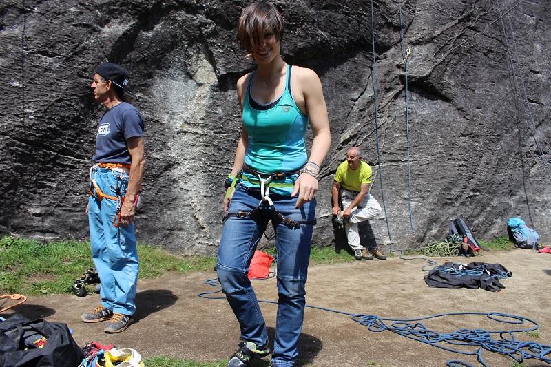arrampicata wild country vertige