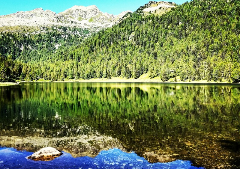 lago malghette trail Dolomiti