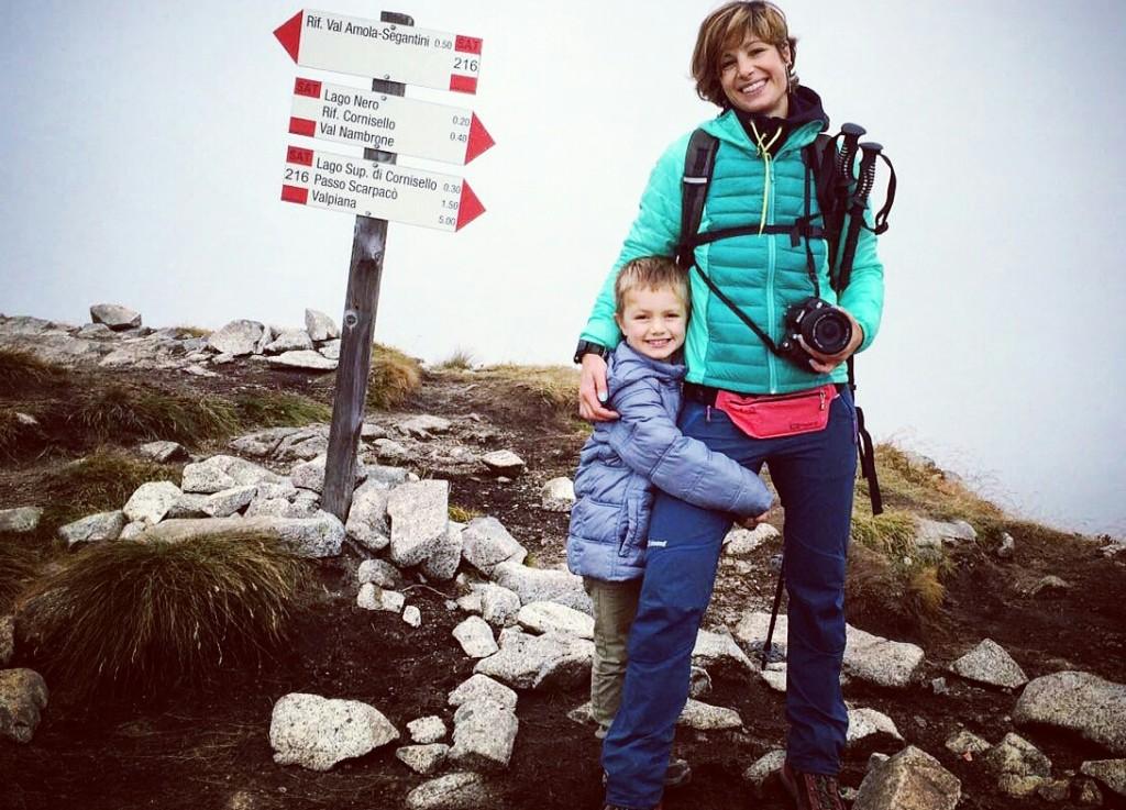mamma sportiva trekking vertige 4