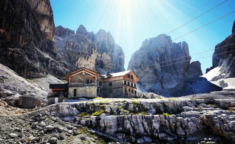 rifugio alimonta trail Dolomiti