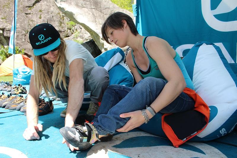 vertige scarpe arrampicata