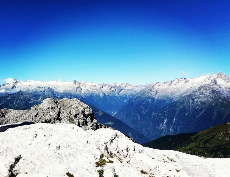 vista dai 12 apostoli trail Dolomiti