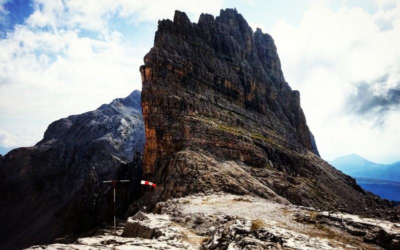 vista dal tosa pedrotti trail Dolomiti