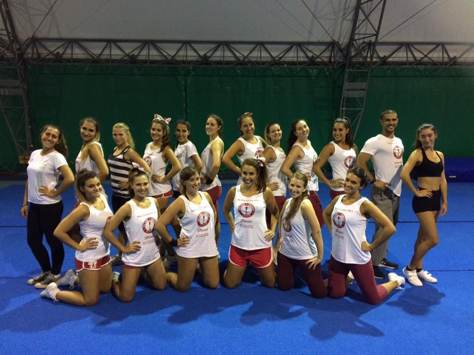 Cheerleading italia donne vertige