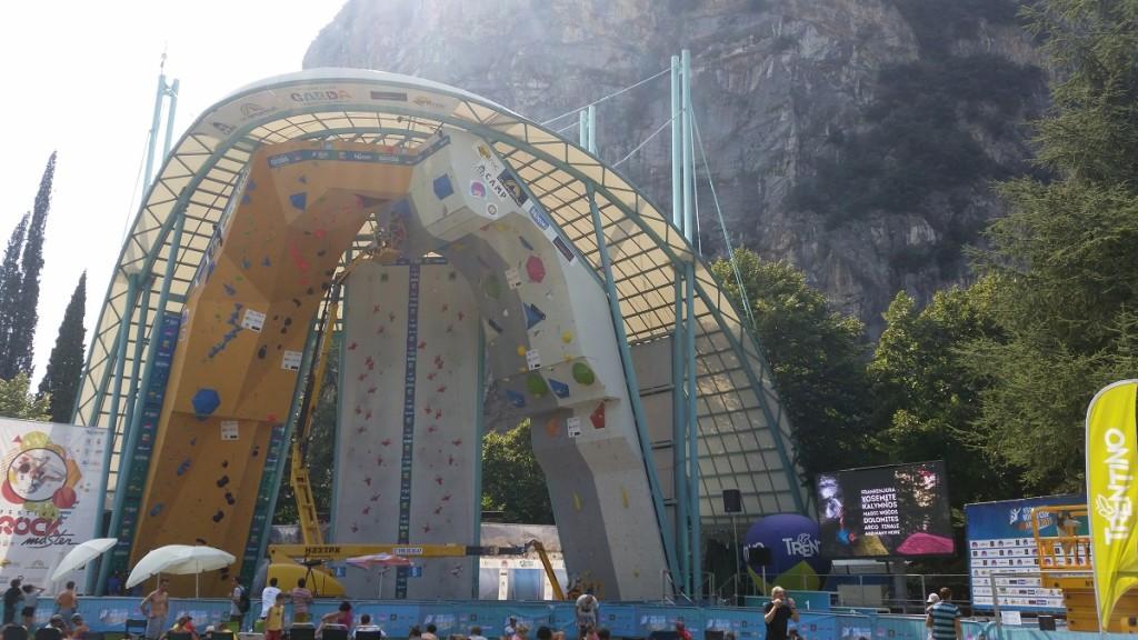 rock master arrampicata donne vertige