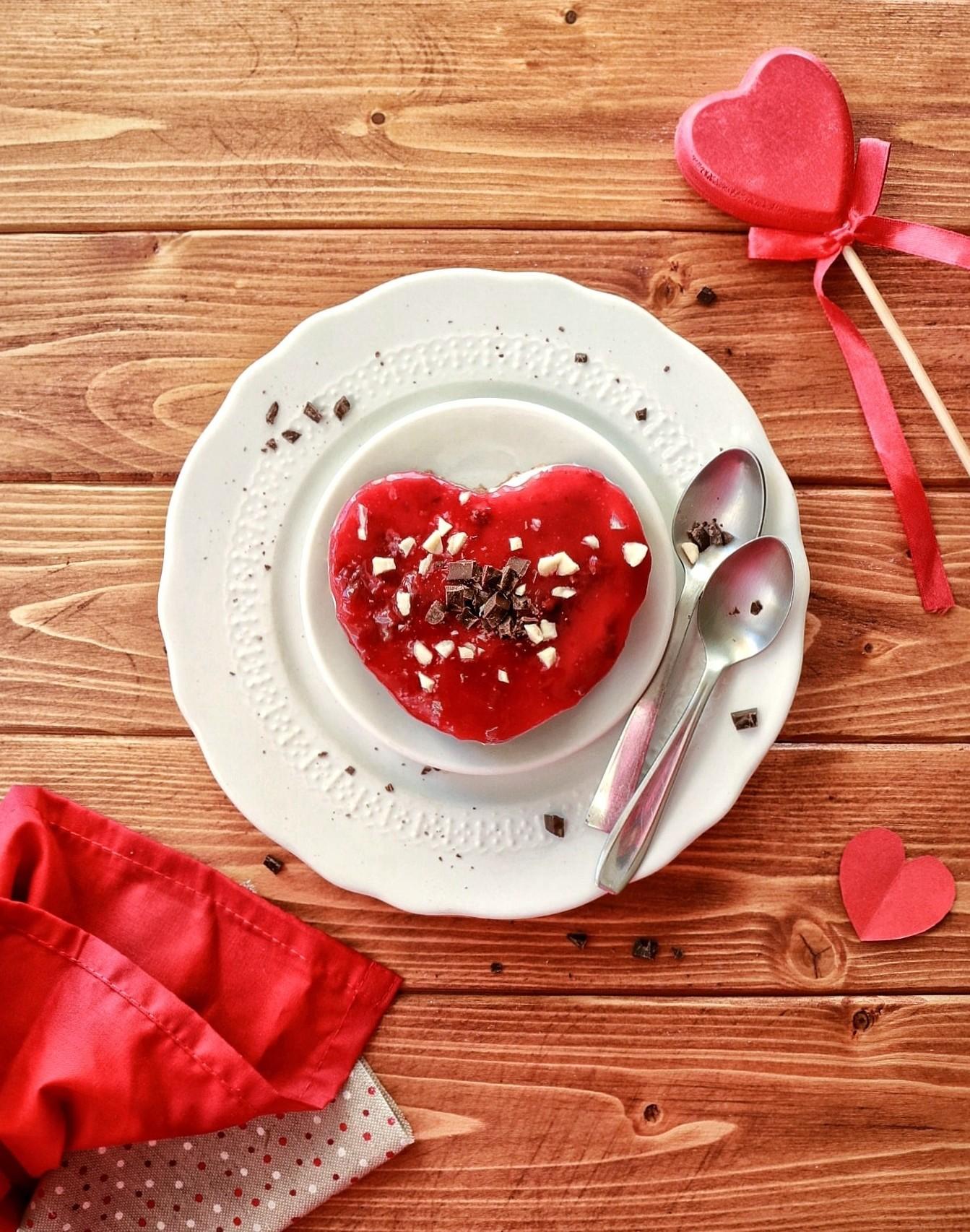 Preparare la mini cheesecake allo yogurt per san valentino