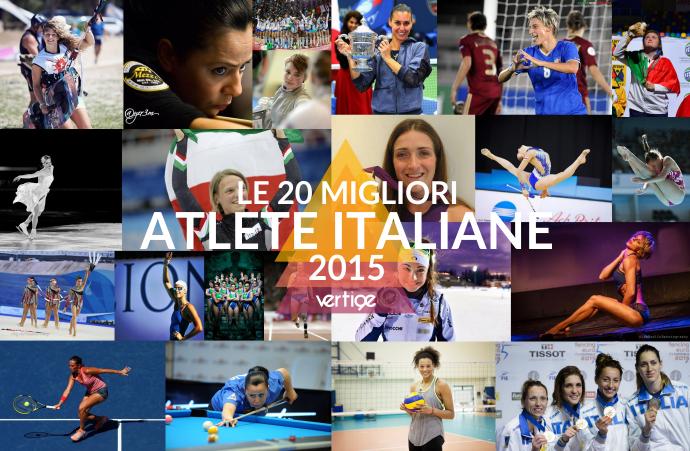 Le 20 migliori atlete del 2015 vertigedonne sport for Migliori cucine italiane 2016