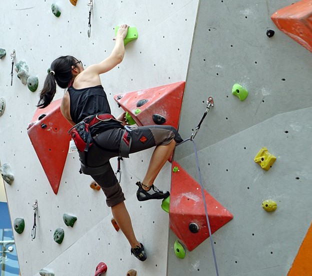 COME DIVENTARE  UNA TOP DELL'ARRAMPICATA INDOOR
