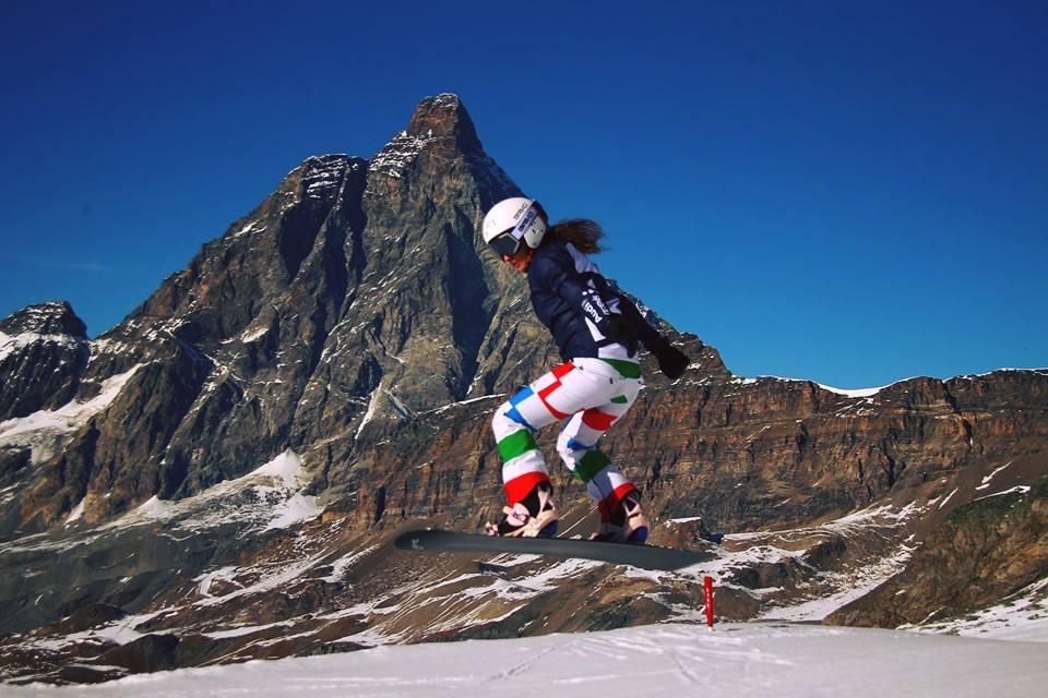 SULLA TAVOLA DA SNOWBOARD CROSS CON SOFIA BELINGHERI